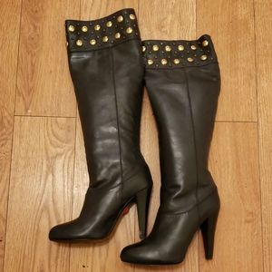 Tall Black Zara Boots!
